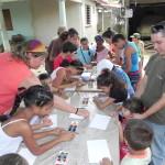 20130711 Accion plastica infantil ValV con Carolina y Monse (7)