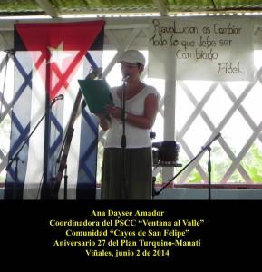 20140602 Aniversario 27 Plan Turquino-Manatí Comunidad Cayos de San Felipe VIÑALES(10)
