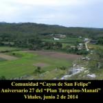 20140602 Aniversario 27 Plan Turquino-Manatí Comunidad Cayos de San Felipe VIÑALES(12)