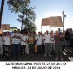 20140724 Acto Municipal por el 26 JULIO Actuacion ValV VIÑALES (1)