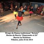 20140725 Noche de Barrio LA TEXTILERA Valle Son y ValV VIÑALES(1)