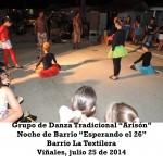20140725 Noche de Barrio LA TEXTILERA Valle Son y ValV VIÑALES(2)