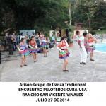 20140728 Gala cultural Valle Son ValV Encuentro  Peloteros CUBA USA Rancho San Vicente VIÑALES(1)