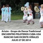 20140728 Gala cultural Valle Son ValV Encuentro  Peloteros CUBA USA Rancho San Vicente VIÑALES(10)