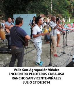 20140728 Gala cultural Valle Son ValV Encuentro  Peloteros CUBA USA Rancho San Vicente VIÑALES(11)