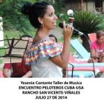 20140728 Gala cultural Valle Son ValV Encuentro  Peloteros CUBA USA Rancho San Vicente VIÑALES(2)