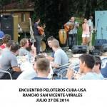 20140728 Gala cultural Valle Son ValV Encuentro  Peloteros CUBA USA Rancho San Vicente VIÑALES(7)