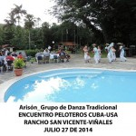 20140728 Gala cultural Valle Son ValV Encuentro  Peloteros CUBA USA Rancho San Vicente VIÑALES(9)