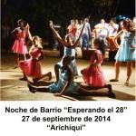 20140927 NocheBarrio ESPERANDO EL 28 Arichiqui VIÑALES