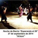 20140927 NocheBarrio ESPERANDO EL 28 Arison VIÑALES