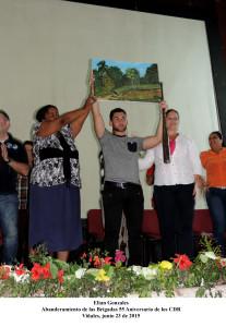 20150623 Abanderamiento Desto. Juvenil 55 Aniversario de los CDR(4)
