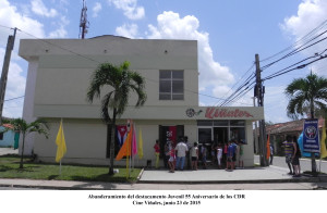 20150623 Abanderamiento Desto. Juvenil 55 Aniversario de los CDR(7)