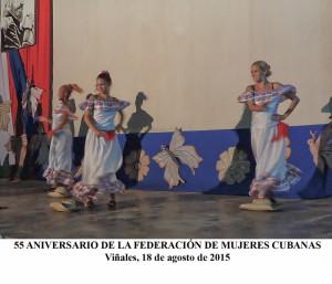20150818 55 Aniversario Federación Mujeres Cubanas(1)